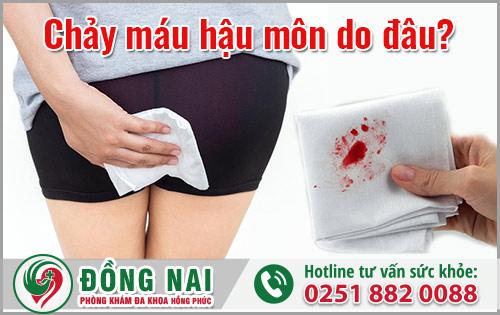 Chảy máu hậu môn là dấu hiệu của nhiều bệnh lý nguy hiểm