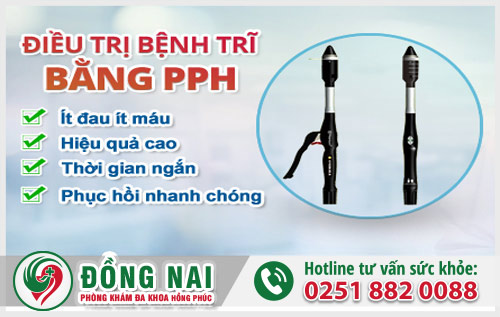 PPH là phương pháp chuyên điều trị hiệu quả bệnh trĩ nội
