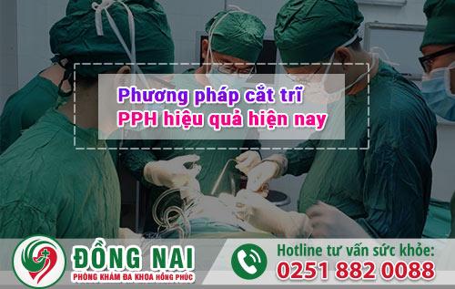 Phương pháp cắt trĩ PPH hiệu quả hiện nay